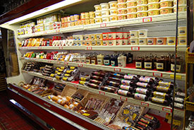 Largest variety of cheese and sausage in Wisconsin Dells